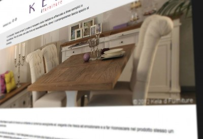 Sito per Kela d furniture - Pagina interna