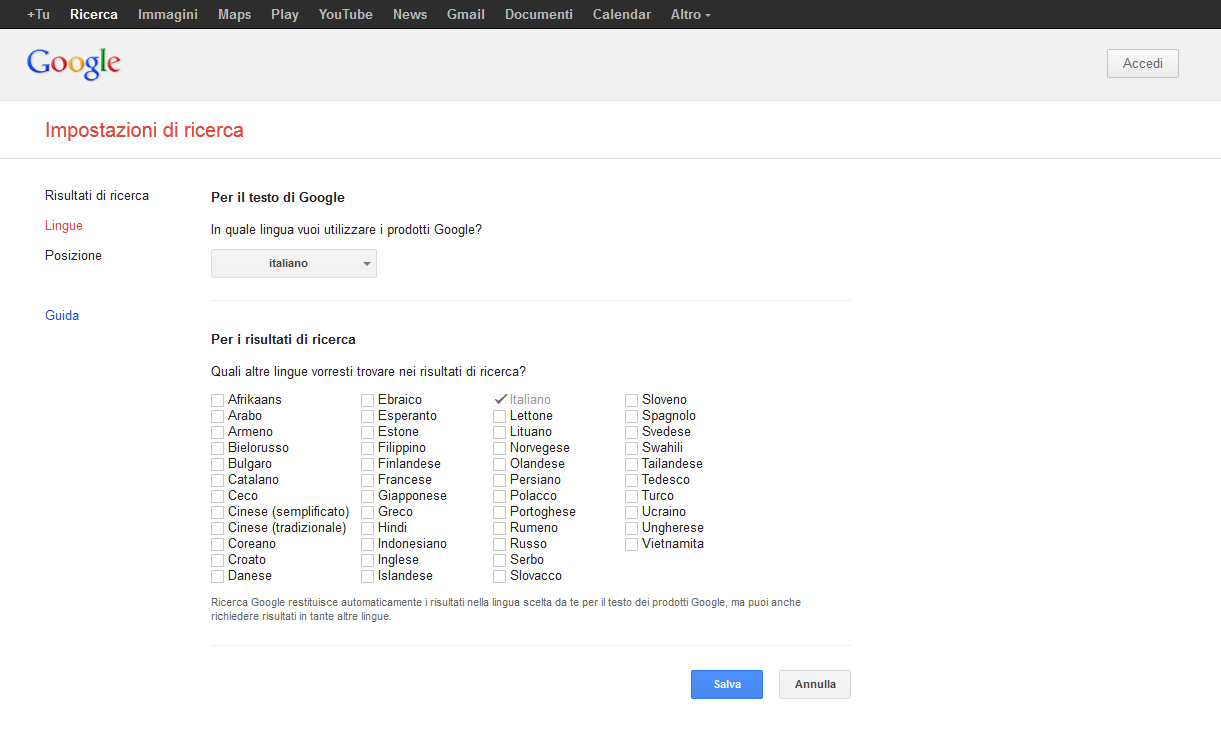 Test di Google Knowledge Graph in Italia Immagine 2 di 5